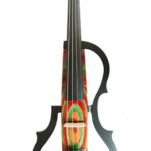 GENEVA ADVANCED-Electric-Violin-GVE-N029-RED-GREEN