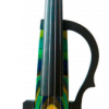 GENEVA ADVANCED-Electric-Violin-GVE-N048-YELLOW-BLUE-GREEN