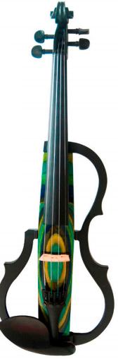 GENEVA ADVANCED-Electric-Violin-GVE-N048-YELLOW-BLUE-GREEN