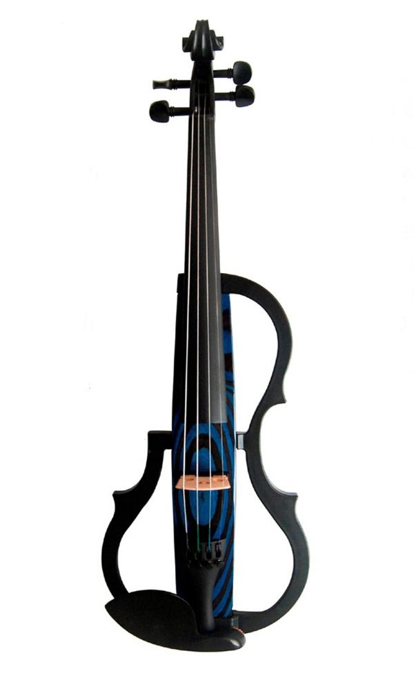 GENEVA ADVANCED-Electric-Violin-gve-n009-BLUE