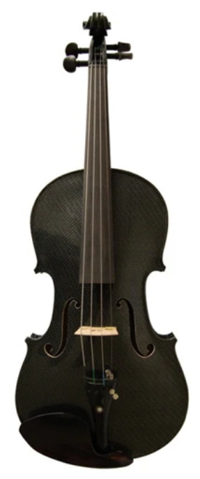 Geneva-Visual-Art-Violin-Carbon-Fiber-Black-Kids-Violin
